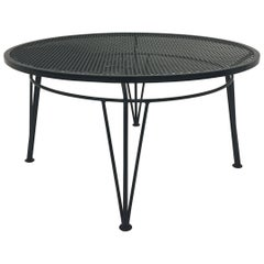 Round Salterini Vintage Outdoor Coffee Table
