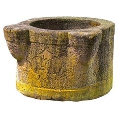 Round Sandstone Trough from 1791, Wellhead
