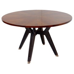 Round Table by Ico Parisi For M.I.M. Roma, Italy, circa 1958
