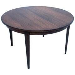 Round table by Omann Jun, Danish Design, 1960s