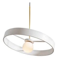 Round Thin Pendant by ASAF Weinbroom Studio