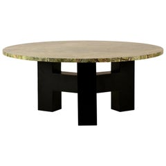Round 'Upsilon' Coffee Table by Design Frères