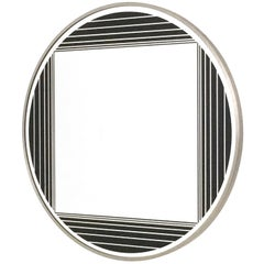 Round Wall Mirror by Gianni Celada, Italy, 1960s