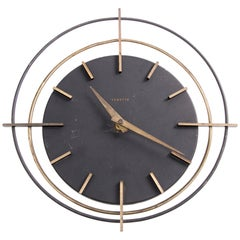 Roung Vedette Wall Clock, France, 1950