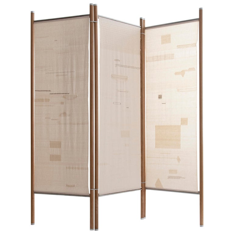 Roving Screen Room Divider For Sale