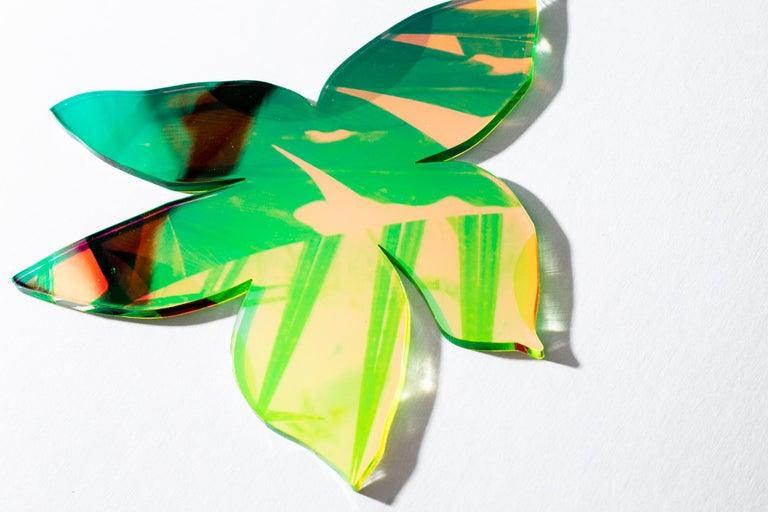 Roxana Azar Abstract Sculpture - Orchid Star