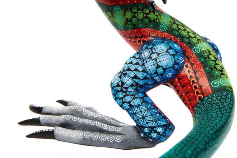 Dragon Fantastico - Fantastic Dragon Alebrije - Mexican Folk Art - Wood Carving  For Sale 9