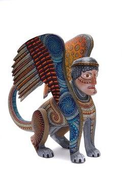 Nahual Zapoteco - Zapotec Nahual - Mexican Folk Art  Cactus Fine Art