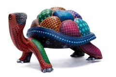 Tortuga Mágica - Magic Turtle - Mexican Folk Art  Cactus Fine Art