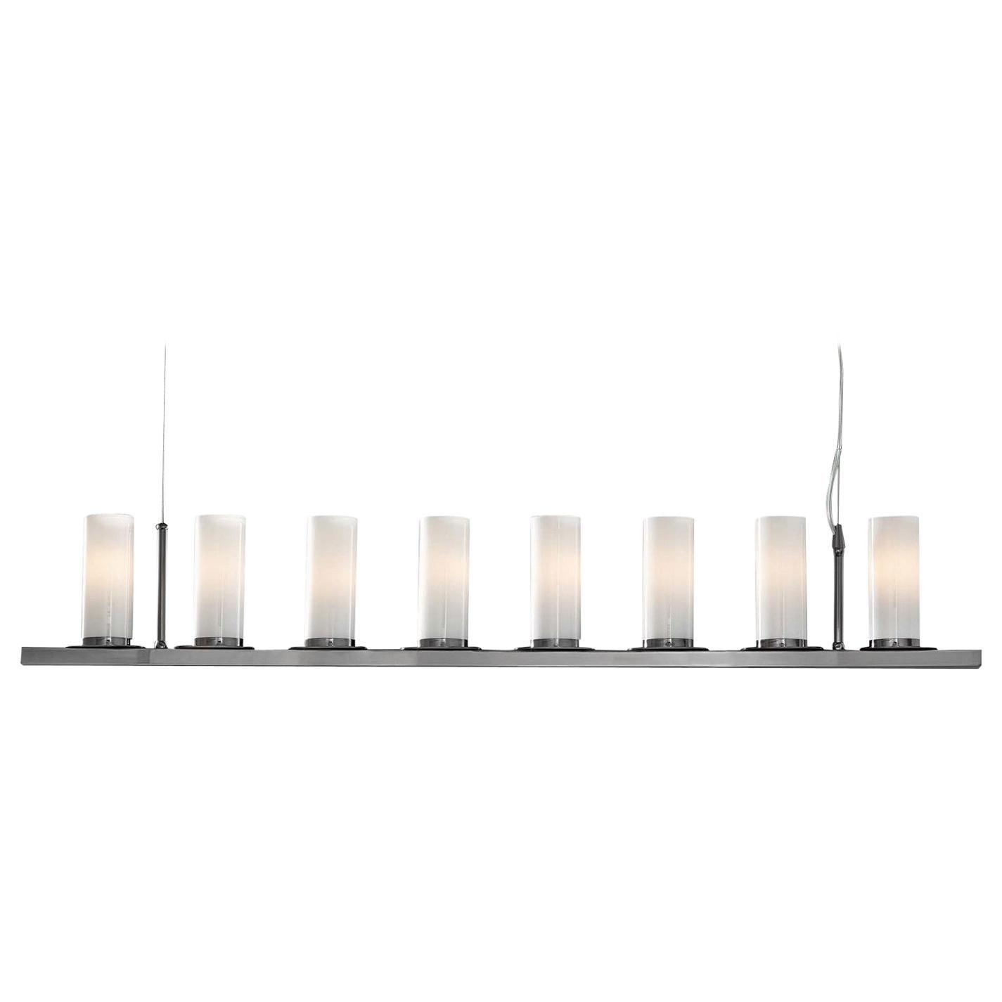 Roxanne Black Linear Pendant Lamp