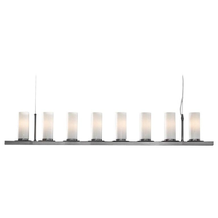 Roxanne Black Linear Pendant Lamp For Sale