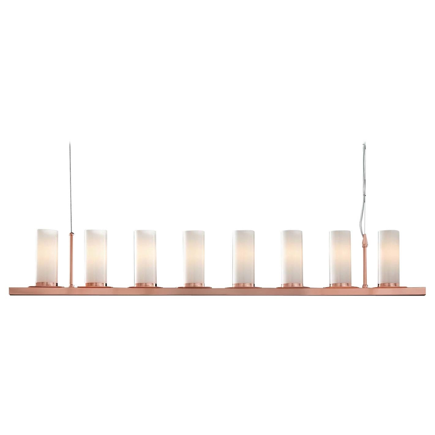 Roxanne Copper Linear Pendant Lamp