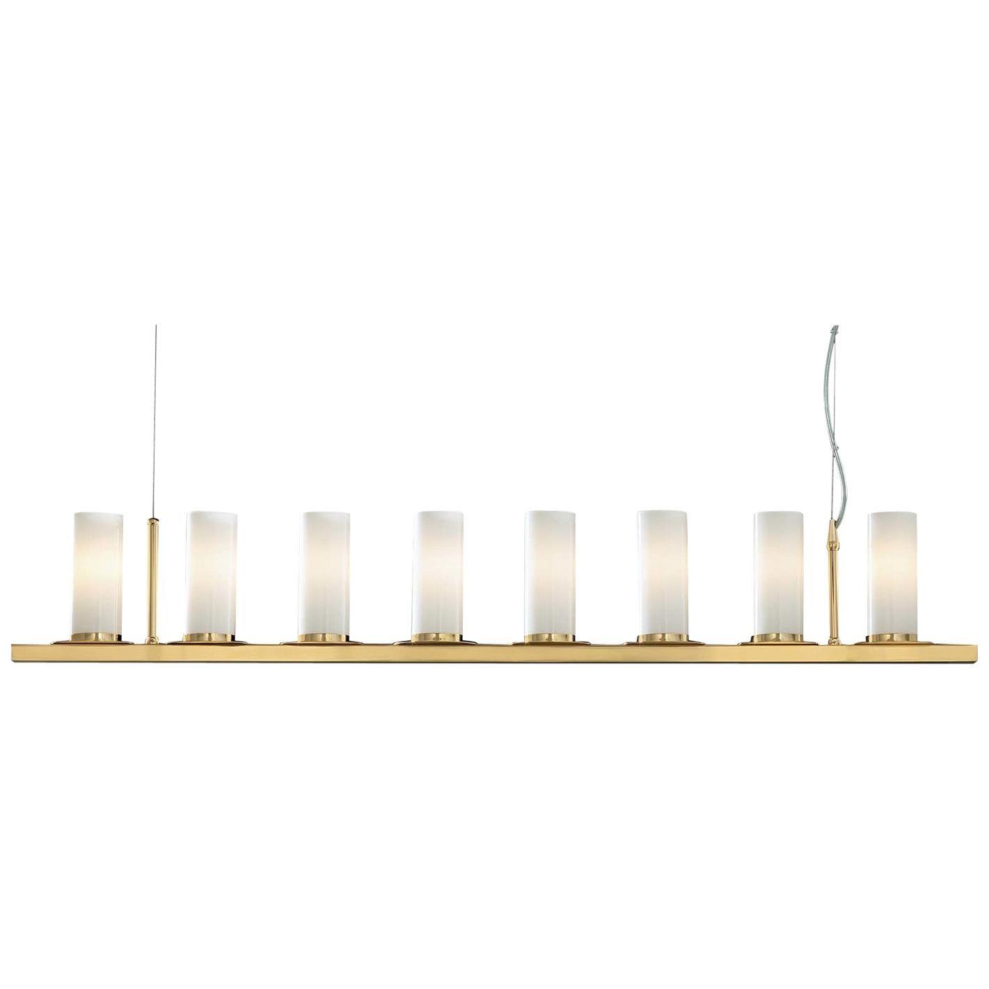 Roxanne Gold Linear Pendant Lamp