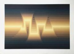 Aztec, Limited Edition Silkscreen, Roy Ahlgren