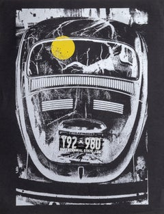 Beetle, Pop Art silkscreen by Roy Ahlgren