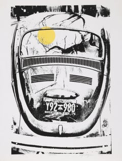 Beetle, Serigraph by Roy Ahlgren