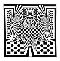 """""""Desert Icon IV"""", 1968, Serigraph by Roy Ahlgren"""