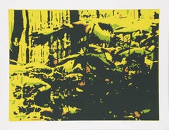 Earthwork, Serigraph by Roy Ahlgren