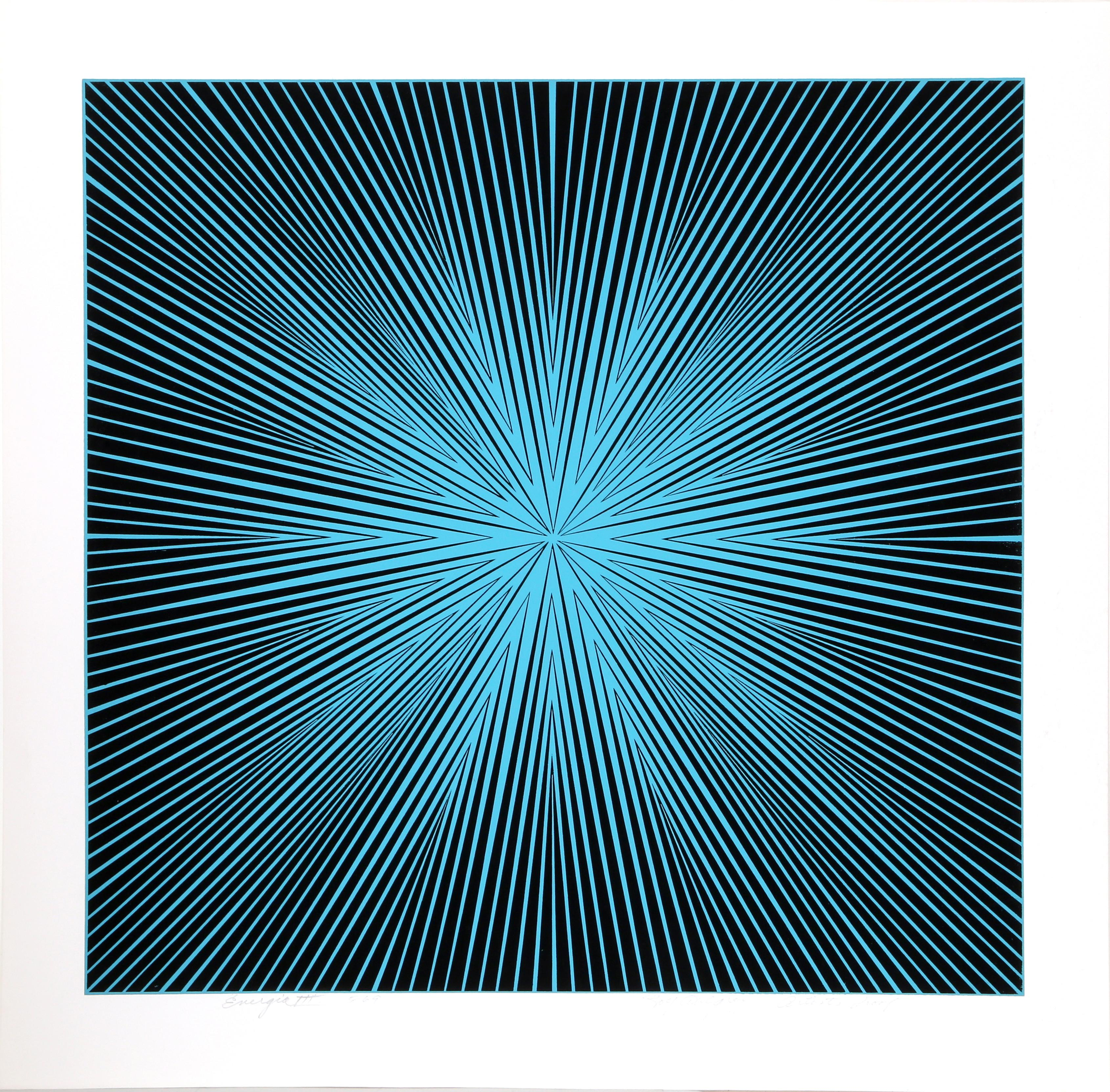 """""""Energia III"""", 1969, Serigraph by Roy Ahlgren"""
