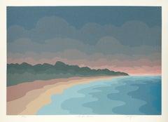 Land's End, Op Art Landscape by Roy Ahlgren