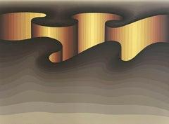 National Crevice, Limited Edition Silkscreen, Roy Ahlgren