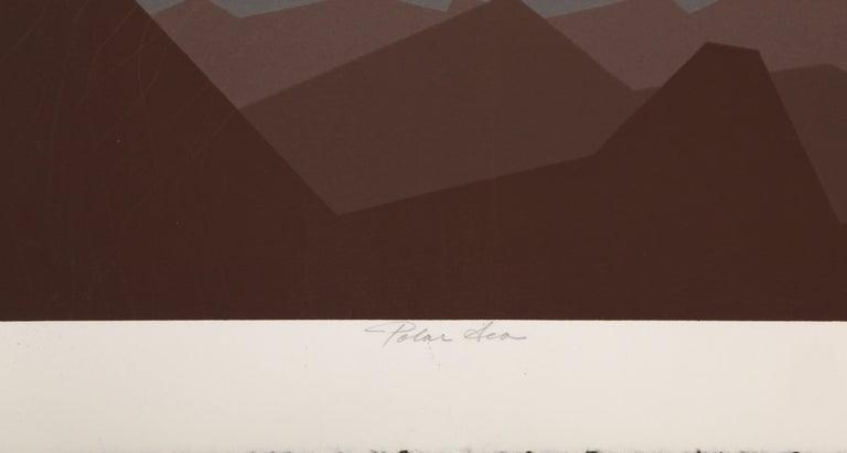 Polar Sea - Print by Roy Ahlgren
