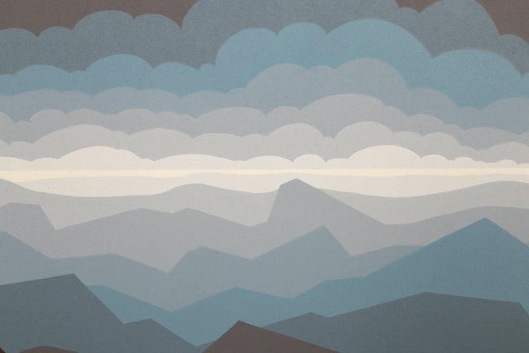 Polar Sea - Op Art Print by Roy Ahlgren