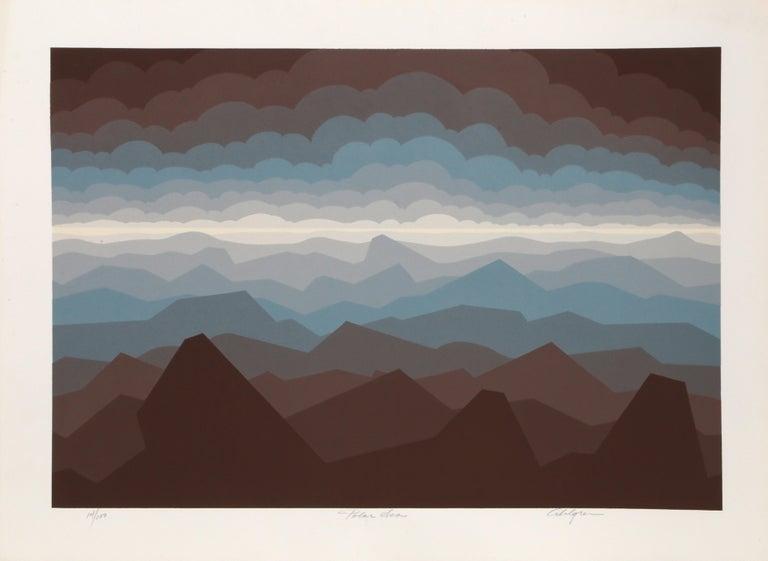 Roy Ahlgren Landscape Print - Polar Sea