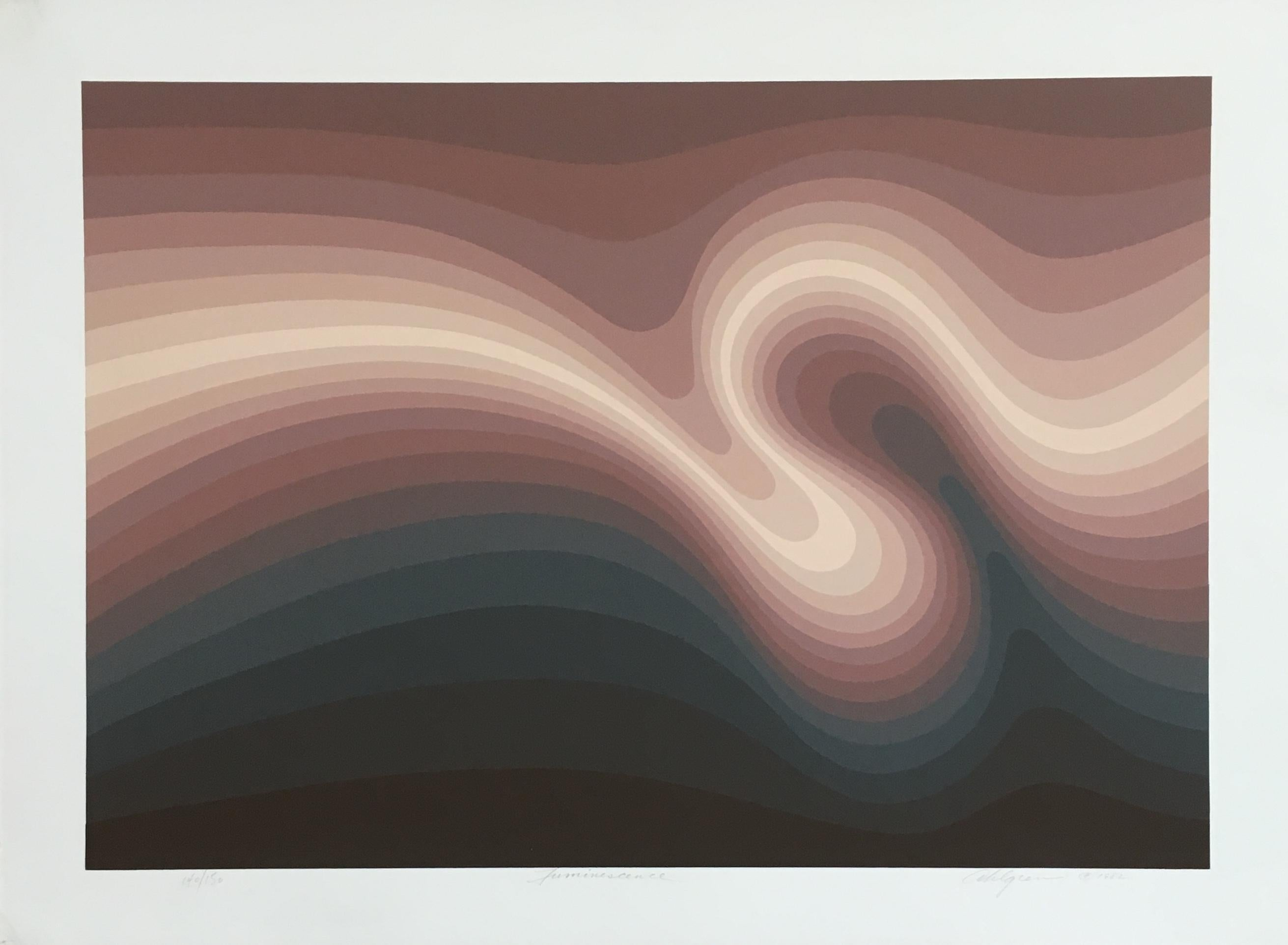 Roy Ahlgren 'Luminescence' Signed Limited Edition Serigraph Print