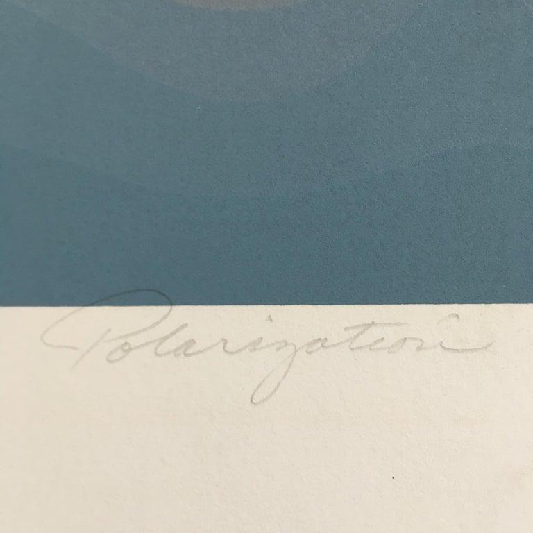Roy Ahlgren 'Polarization' Signed Limited Edition Serigraph Print 1