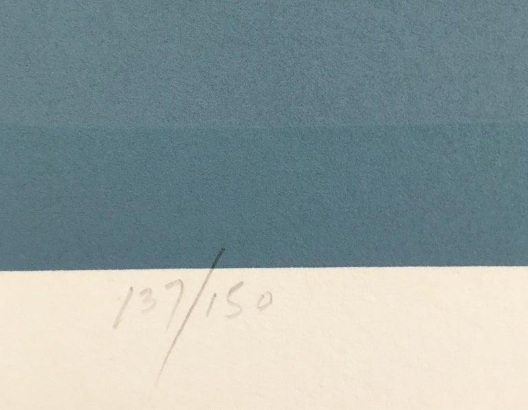 Roy Ahlgren 'Polarization' Signed Limited Edition Serigraph Print 2