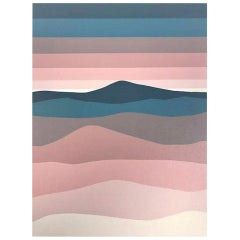 "Roy Ahlgren Signed Limited Edition Silk Screen Print ""An Nafrid"""