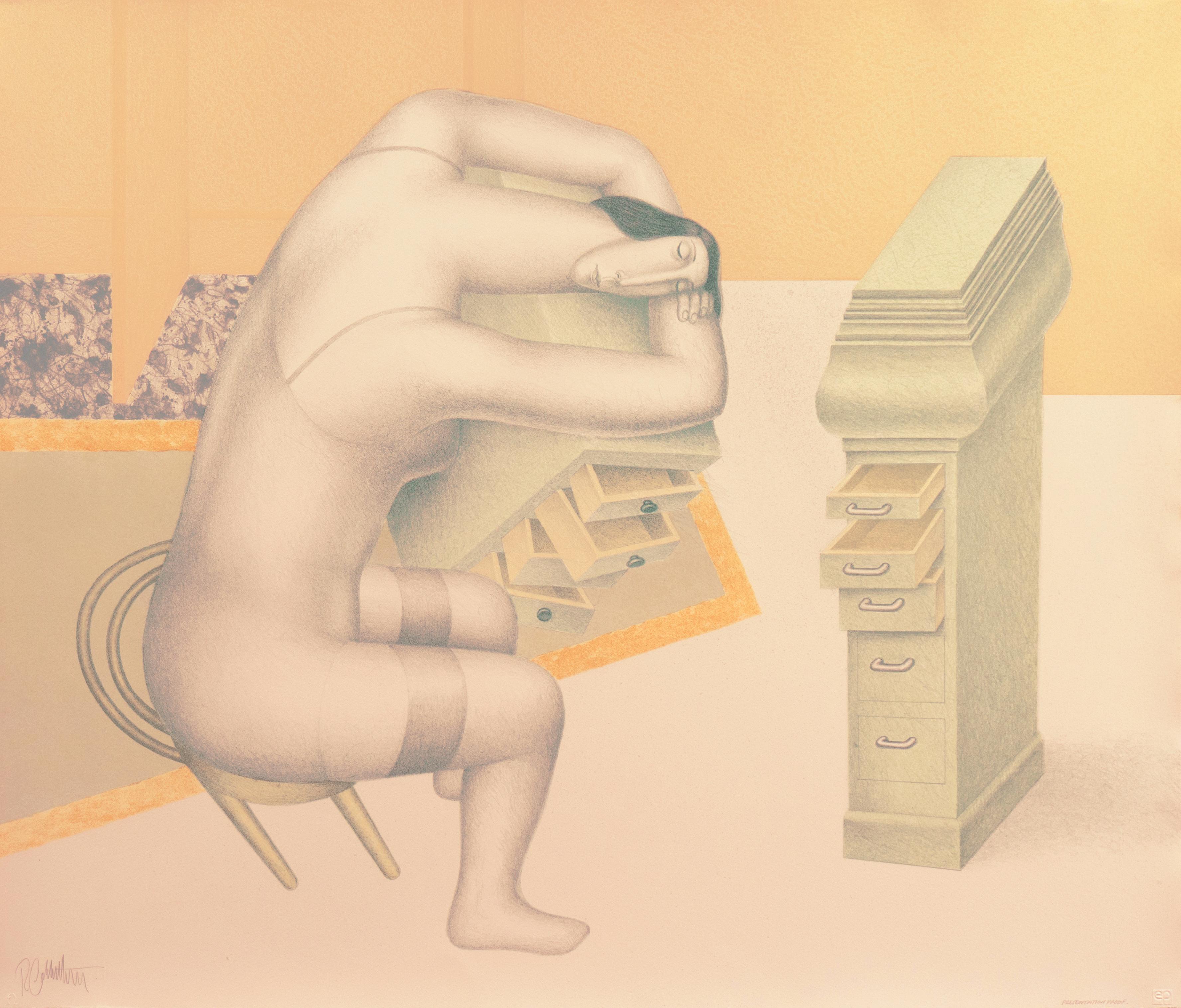 'Sleeping Woman', New York, London, San Francisco Museum of Fine Arts,  SFMOMA
