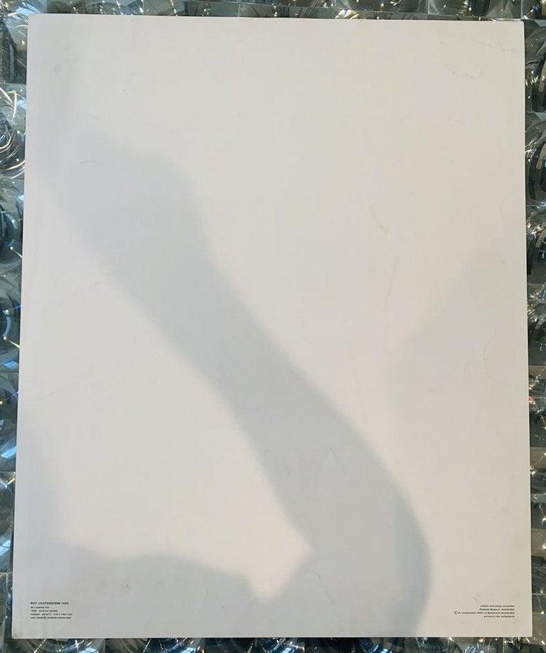 Expressionist Roy Lichtenstein,