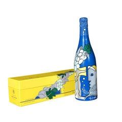 Roy Lichtenstein champagne for Taittinger bottle