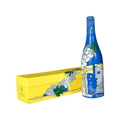 Roy Lichtenstein Champagne for Taittinger Bottle
