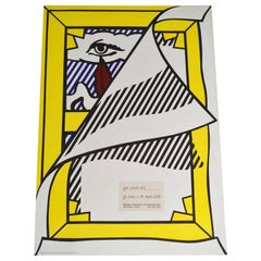 "Roy Lichtenstein Exhibition Poster, ""Art About Art"""