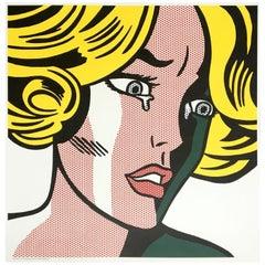 Roy Lichtenstein 'Frightened Girl' Rare Original 1964 Print