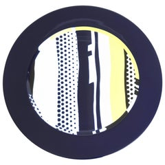 Roy Lichtenstein, 1990 a Signed Plate on Rosenthal Porcelain #1611/3000