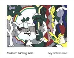 1989 After Roy Lichtenstein 'Landscape With Figures' Pop Art