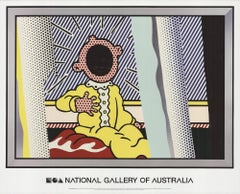 2013 After Roy Lichtenstein 'Reflections on the Scream' Pop Art Multicolor