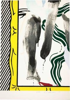 Against Apartheid, Roy Lichtenstein