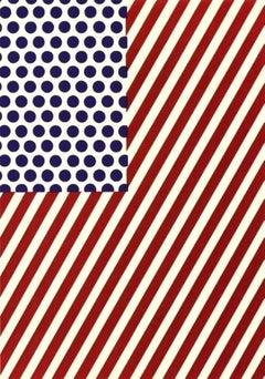 "America, Glossy Postcard Lithograph Small 8.25"" x 5.75"" Roy Lichtenstein"