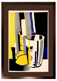 Before the Mirror - Original Lithograph by Roy Lichtenstein - 1975
