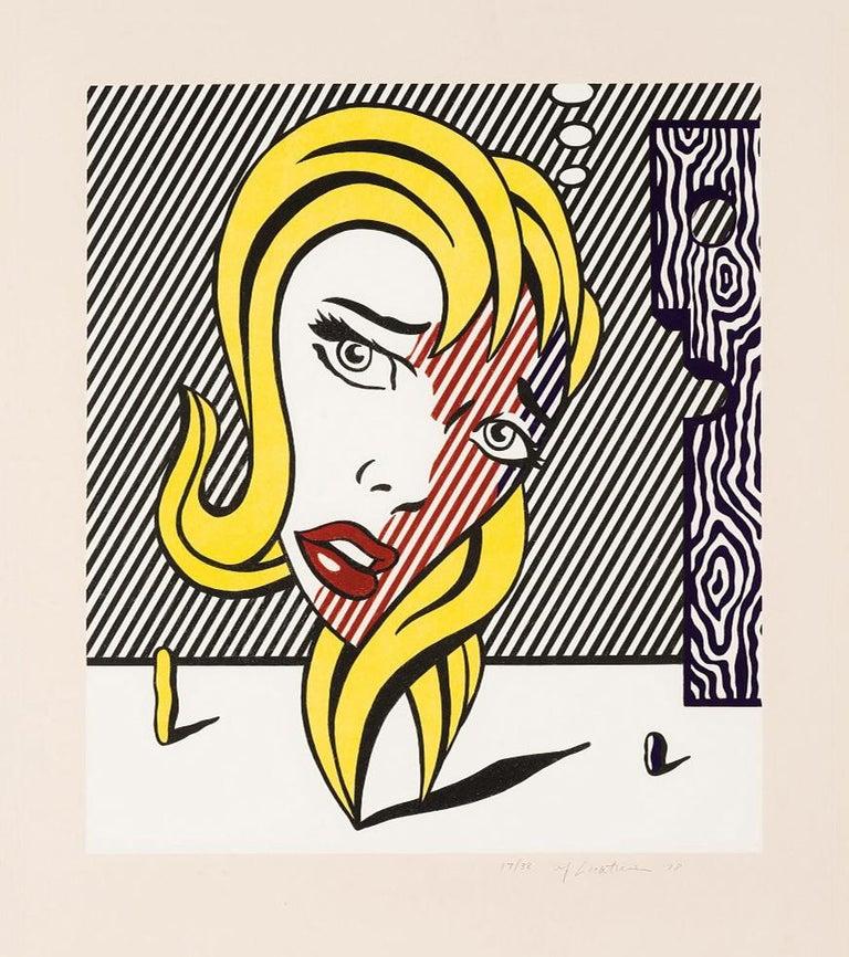 <i>Blonde</i>, 1978, by Roy Lichtenstein, offered by Gallery Art