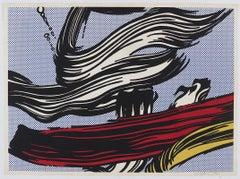 Brushstrokes, Roy Lichtenstein