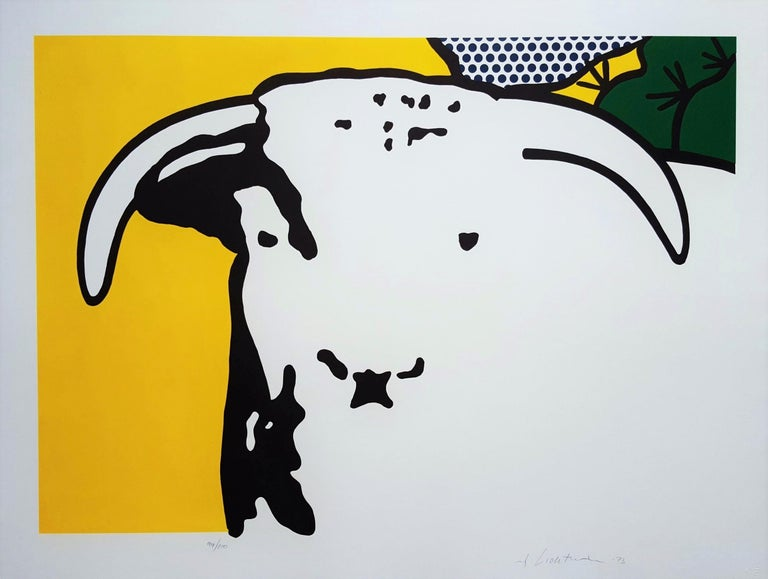 Bull Head I - Print by Roy Lichtenstein