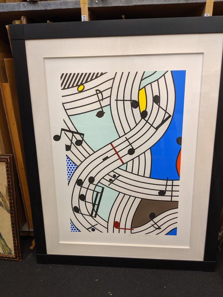 Composition I - Print by Roy Lichtenstein