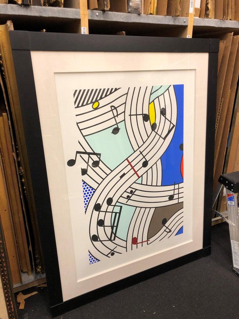 Composition I - Contemporary Print by Roy Lichtenstein