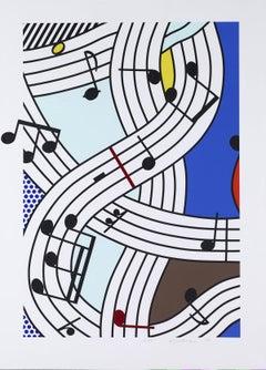 Composition I, Roy Lichtenstein